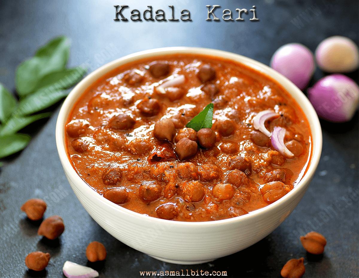 Kadala Kari Recipe