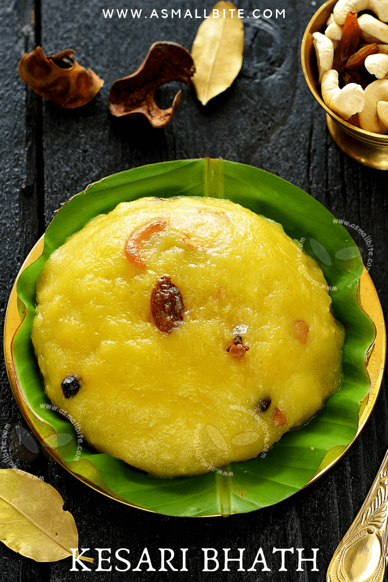 Kesari Bhath Recipe 1