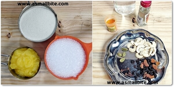 Kesari Bhath Recipe Steps1