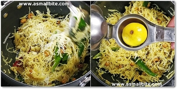 Lemon Sevai Recipe Steps6