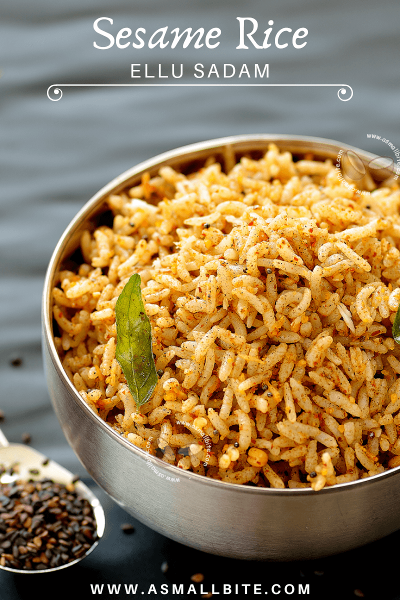 Sesame Rice Recipe Pinterest