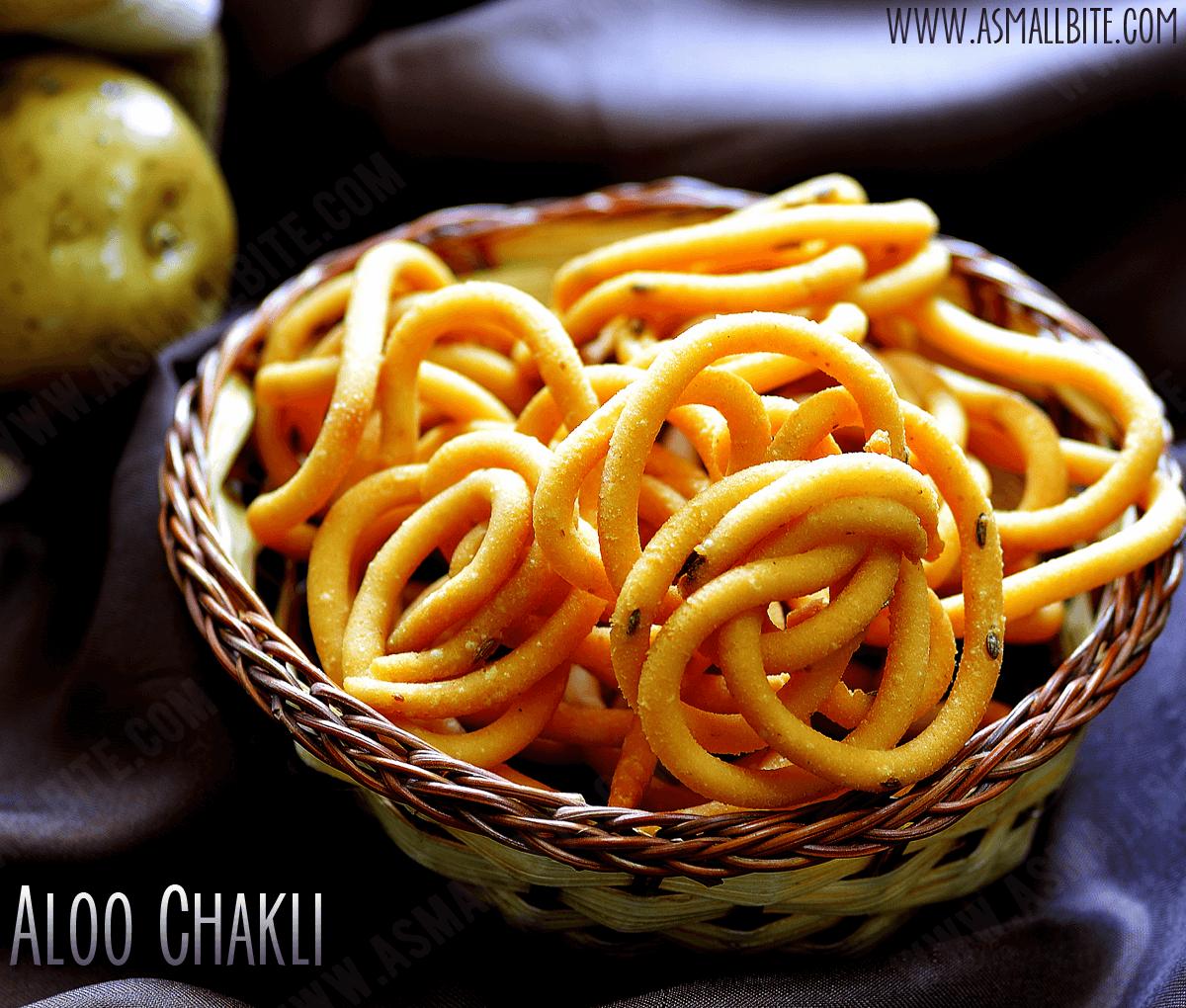 Aloo Chakli Recipe