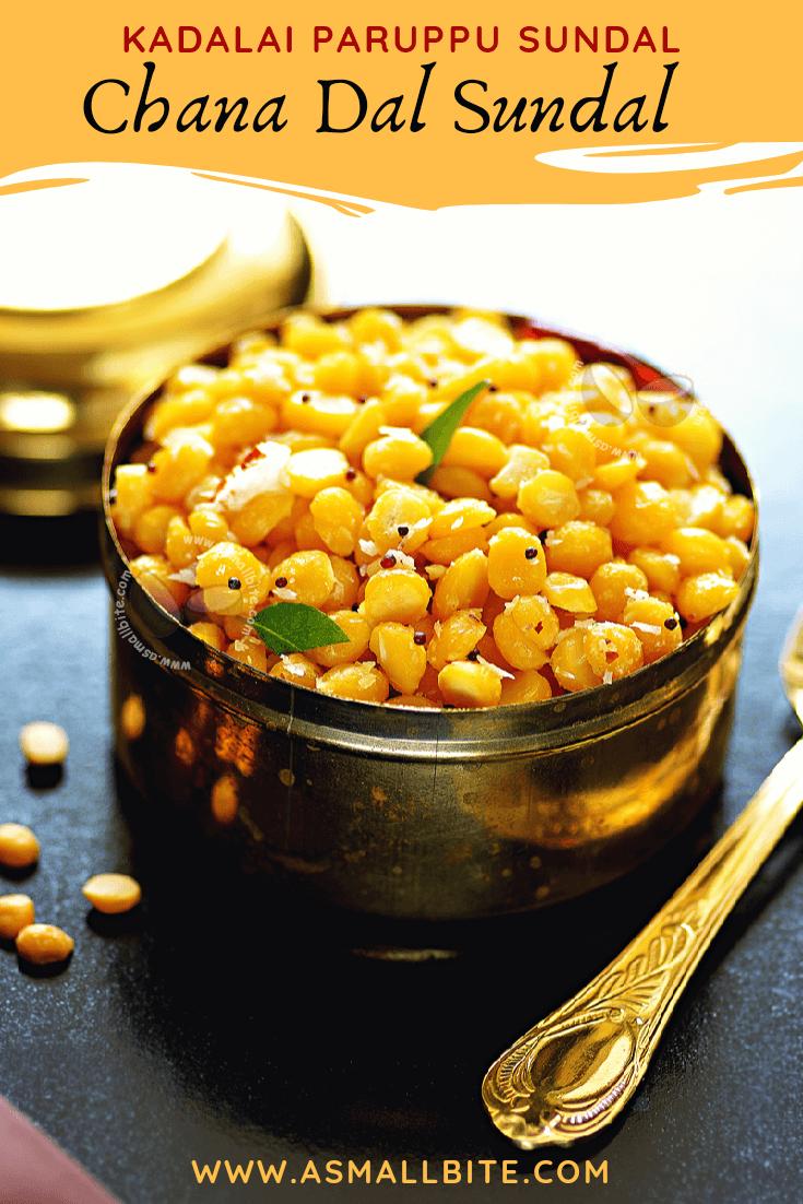 Chana Dal Sundal Recipe 1