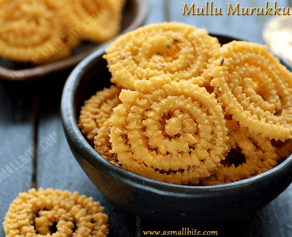 Iyengar Mullu Murukku Recipe