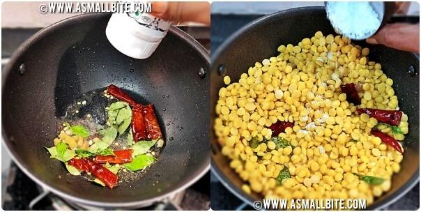 Kadalai Paruppu Sundal Recipe Steps3