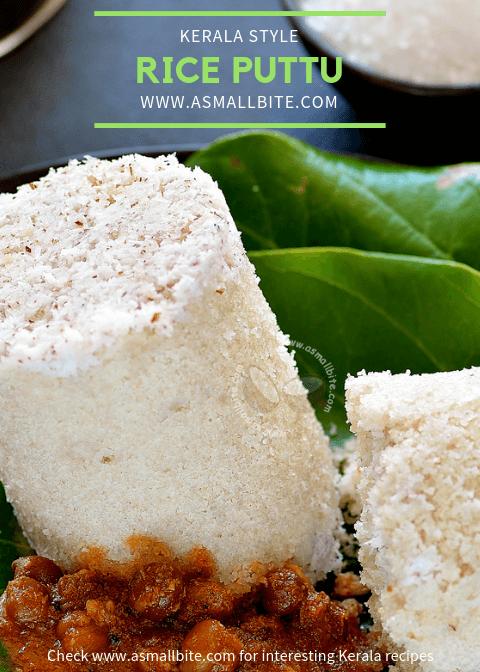 Kerala Style Rice Puttu