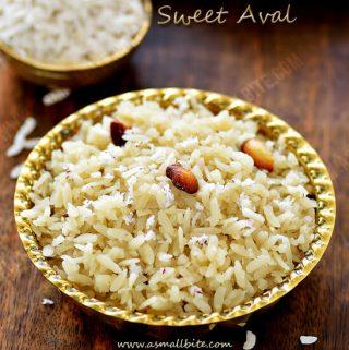 Sweet Aval Recipe