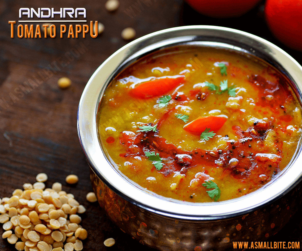 Andhra Tomato Pappu Recipe