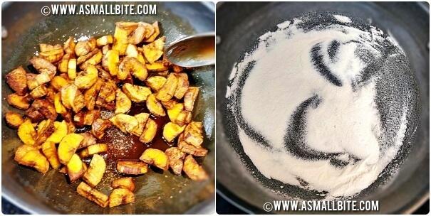 Banana Sharkara Upperi Steps5