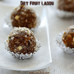 Dry Fruit Laddu without sugar