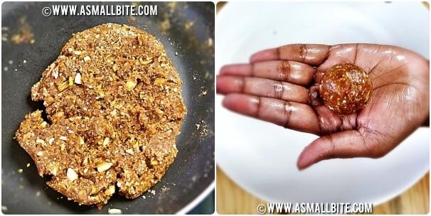 Dry Fruit Ladoo Recipe Steps6