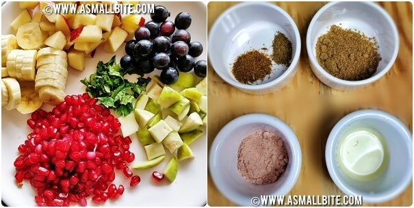 Fruit Chaat Recipe Steps1