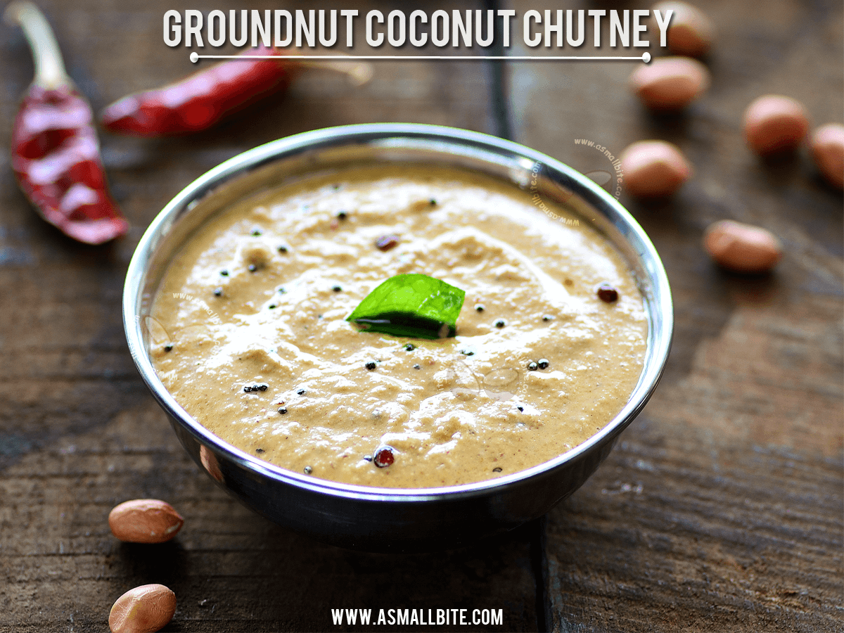 Groundnut Coconut Chutney Recipe