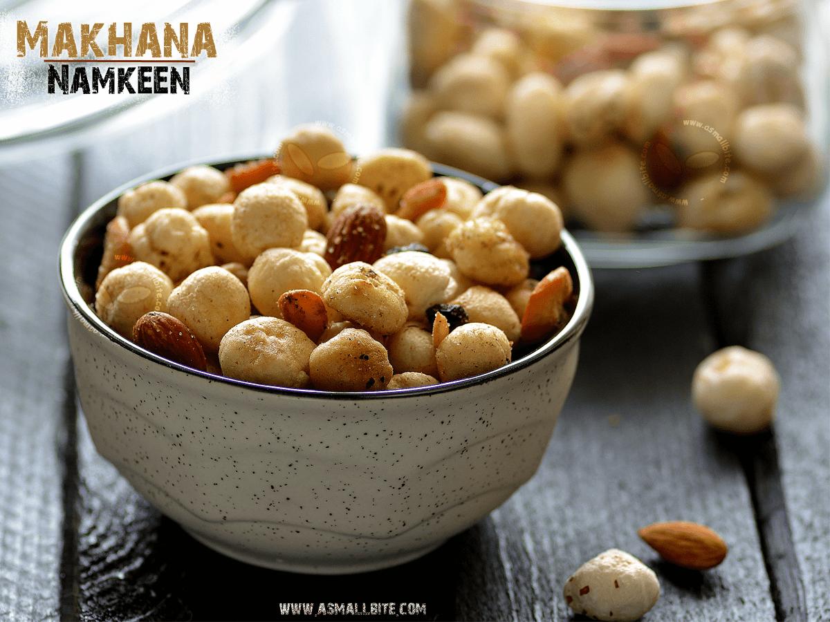 Makhana Namkeen Recipe