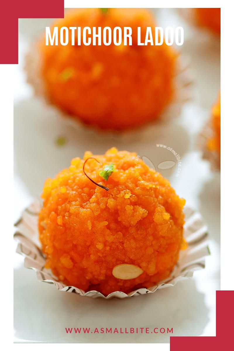 Motichur Laddu Recipe