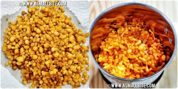 Motichur Ladoo Recipe Step8