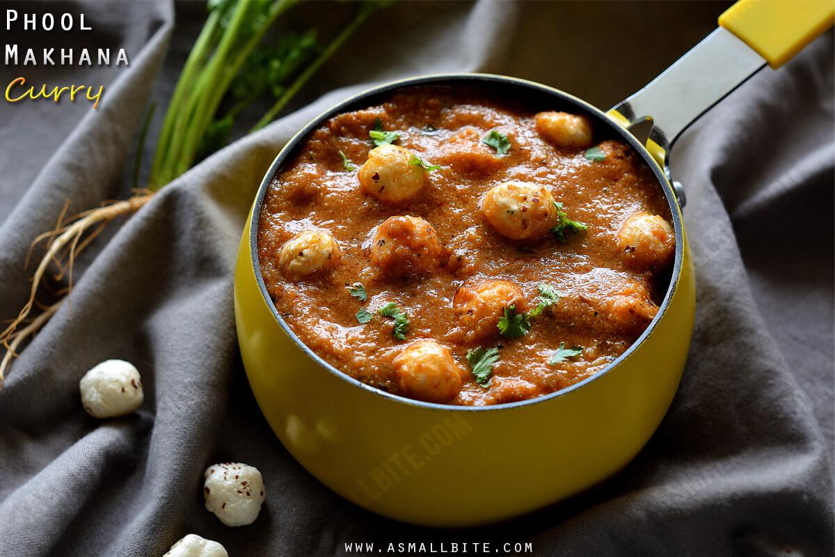 Phool Makhana Curry Recipe