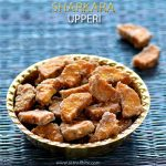 Sharkara Upperi Recipe