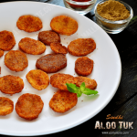 Sindhi Aloo Tuk Recipe | Aloo Took Recipe