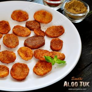 Sindhi Aloo Tuk Recipe