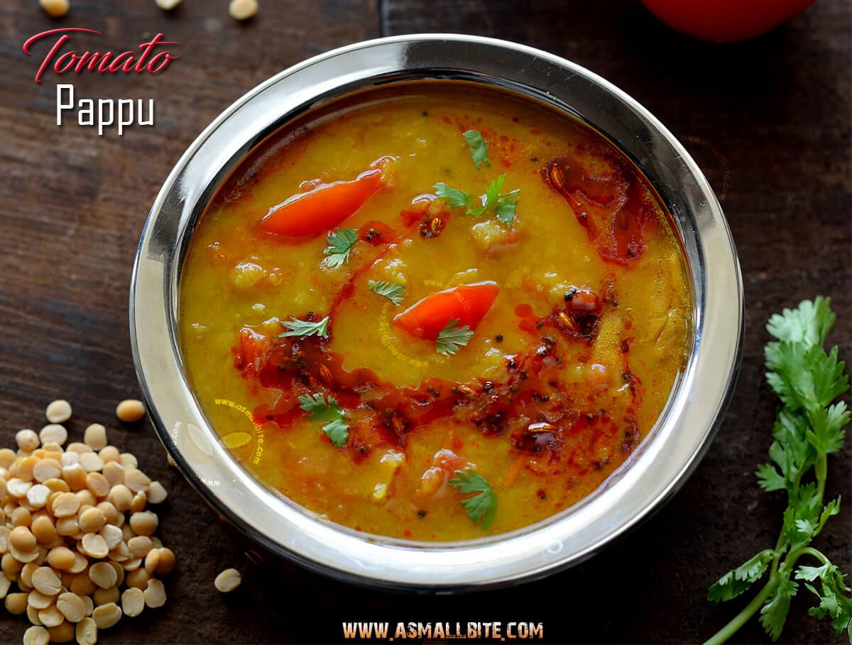 Tomato Pappu Recipe