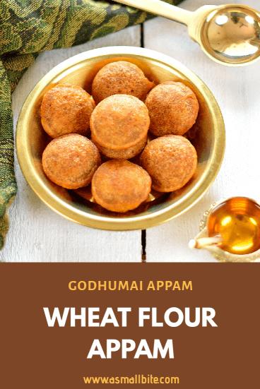 Wheat Flour Appam