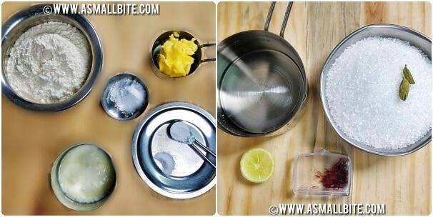Badusha Recipe Steps1