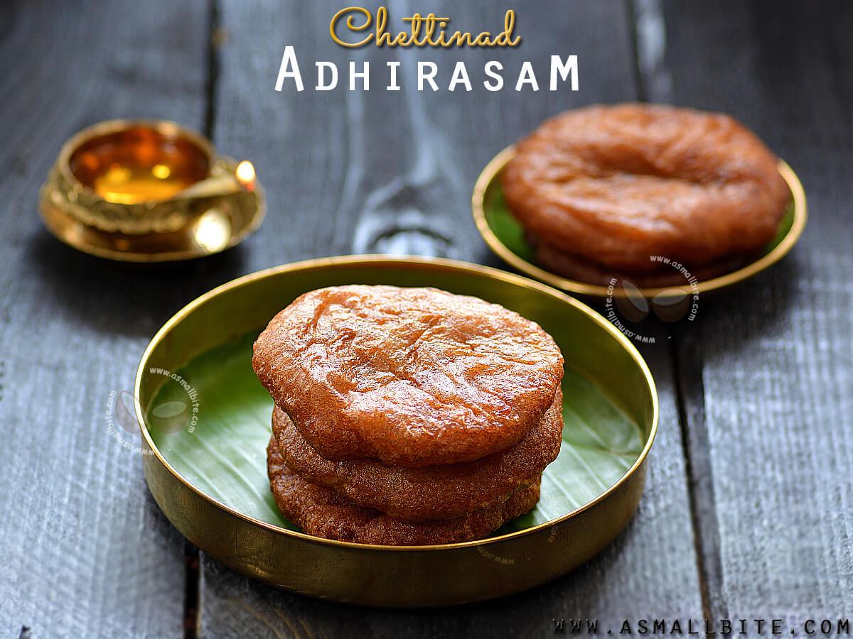 Chettinad Adhirasam Recipe