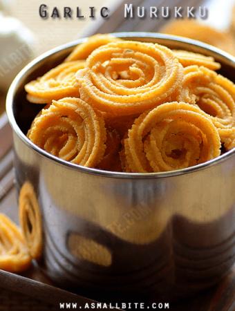 Garlic Murukku Recipe
