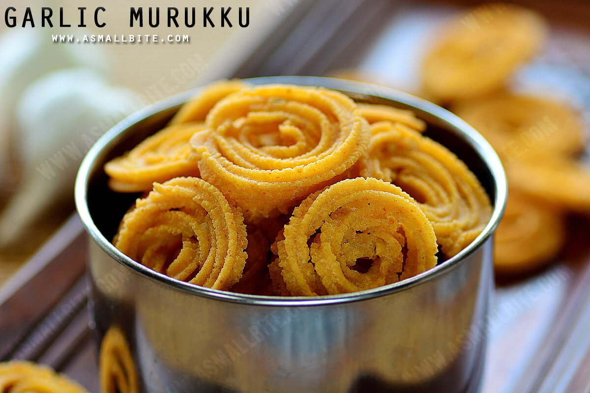 Garlic Murukku Recipe