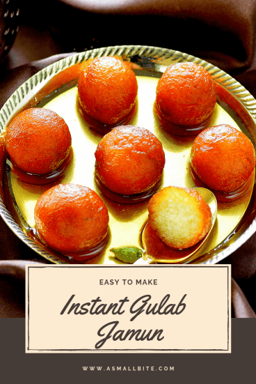 Instant Gulab Jamun Easy Diwali Sweets