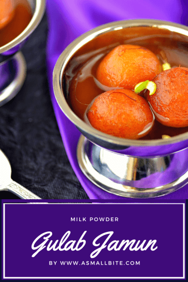 Milk Powder Gulab Jamun