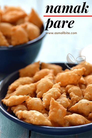 Namak Pare Recipe