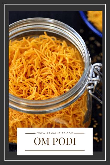 Omapodi Diwali Snacks