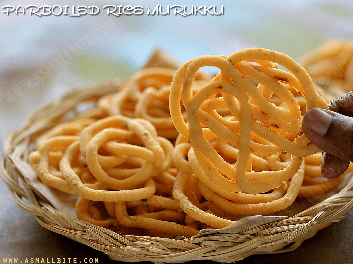 Parboiled Rice Murukku Recipe