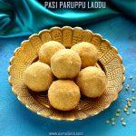 Pasi Paruppu Laddu