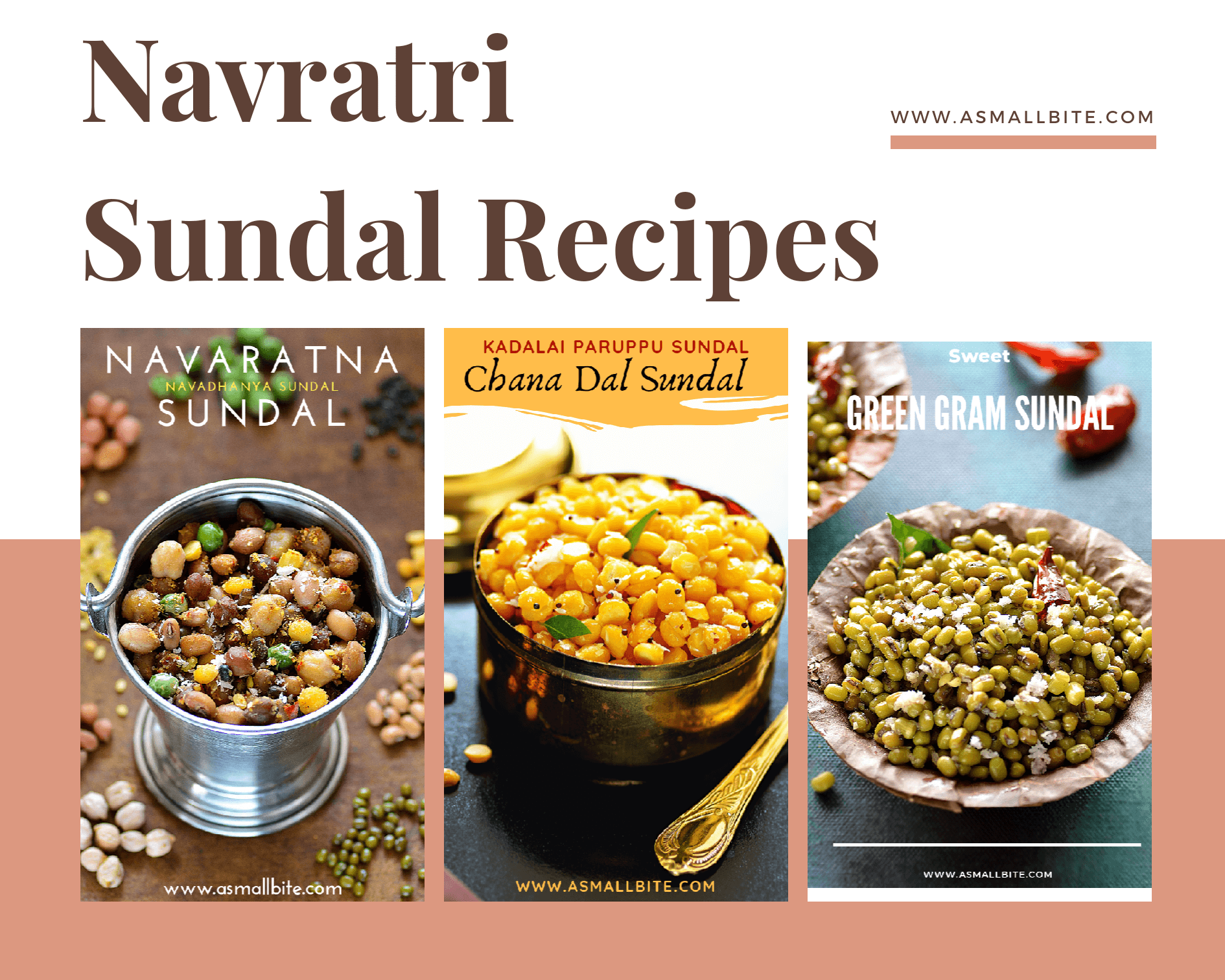 Sundal Recipes