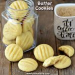 Butter Cookies Recipe | Eggless Butter Biscuit Recipe