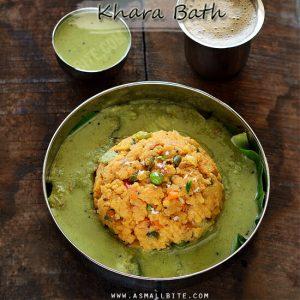 Khara Bath Recipe
