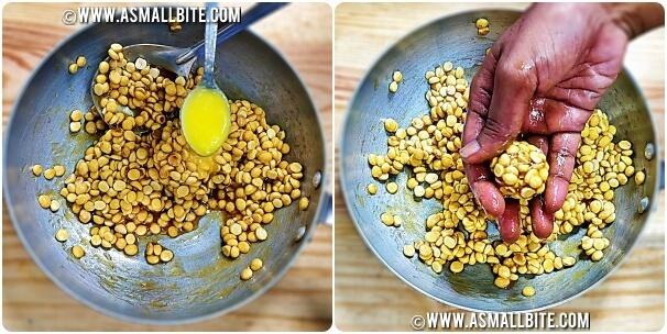 Pottukadalai Ladoo Recipe Steps6