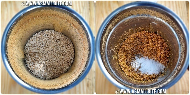 Thengai Podi Recipe Steps5