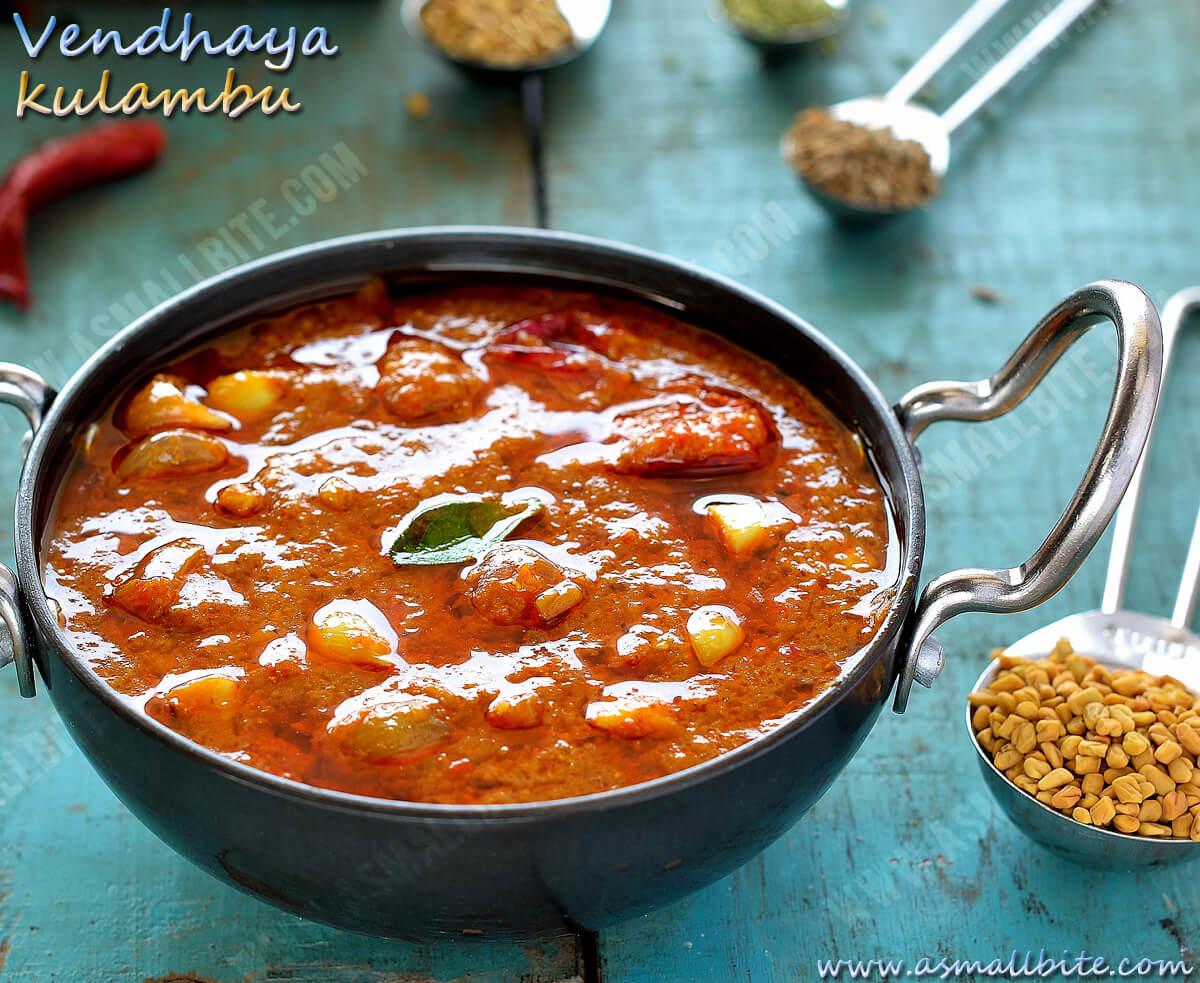 Vendaya Kuzhambu Recipe