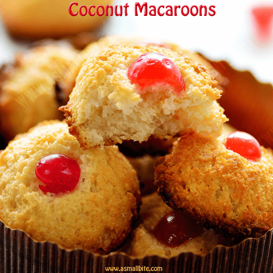 Coconut Macaroon Recipe Coconut Macaroons With Condensed Milk Asmallbite