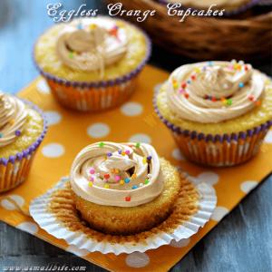Easy Orange Cupcakes Recipe
