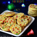 Karachi Biscuits Recipe | Tutti Frutti Biscuits