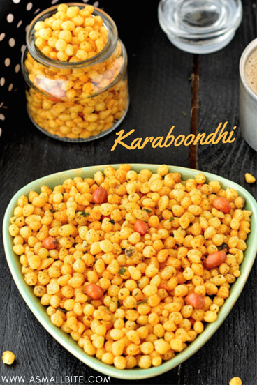 Karaboondi Recipe