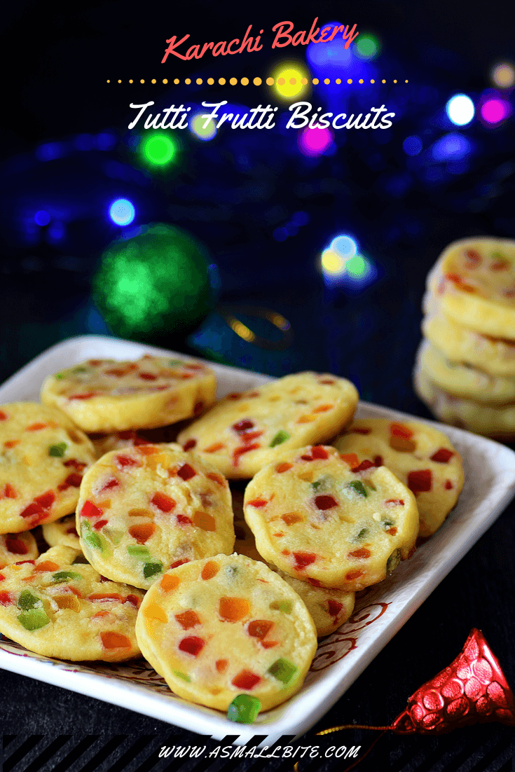Karachi Bakery Tutti Frutti Biscuits