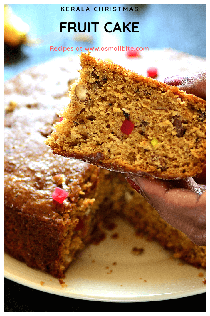 Kerala Christmas Fruit Cake Recipe