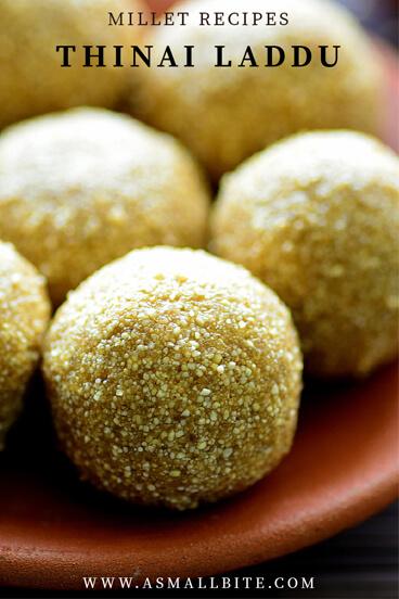 Thinai Laddu Recipe
