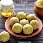 Thinai Laddu Recipe | Thinaiyum Thenum Recipe